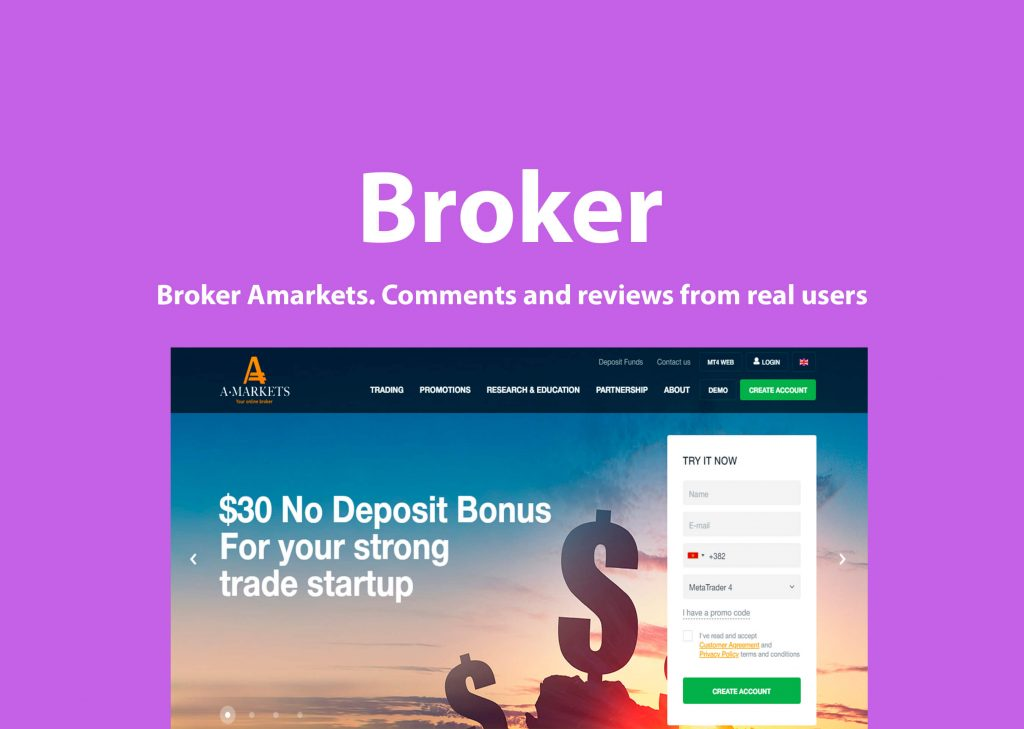 Broker Amarkets rip off reviews